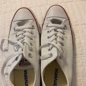 WHITE CONVERSE CHUCK TAYLOR ALL STAR